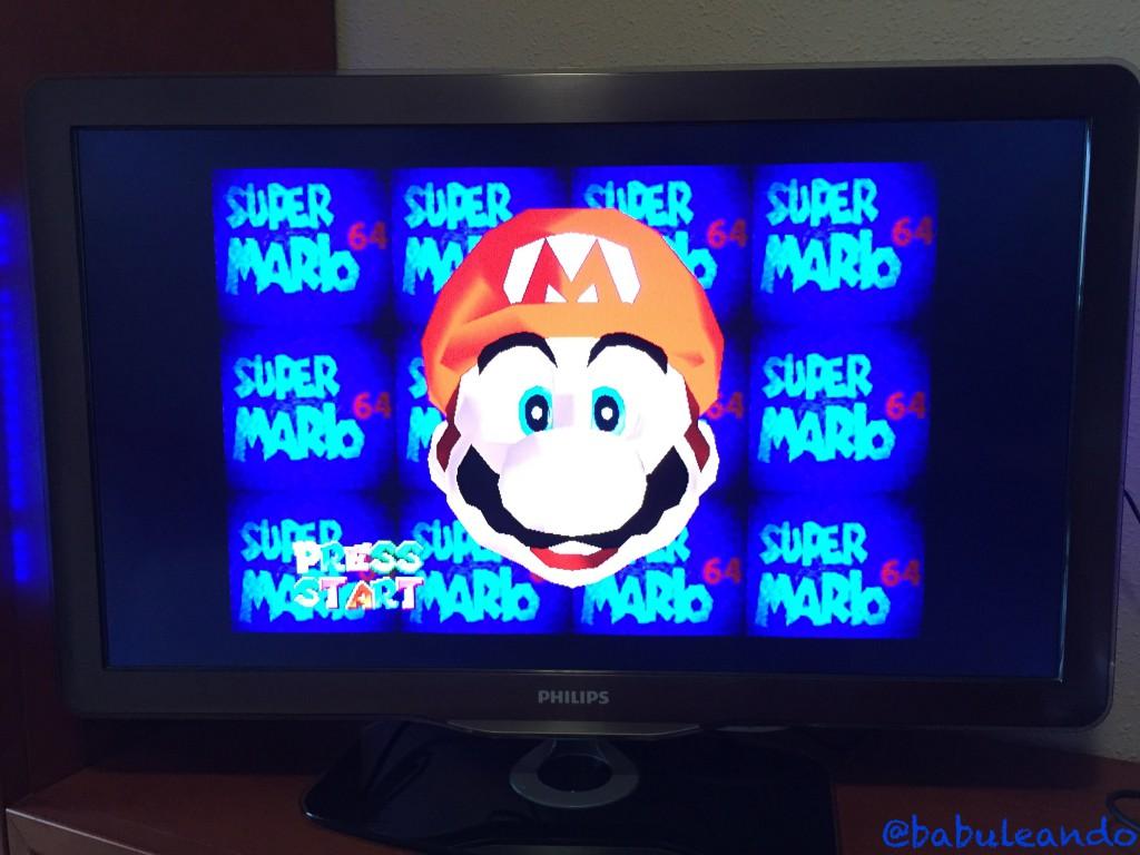 Super Mario 64 - Relación de aspecto 4:3