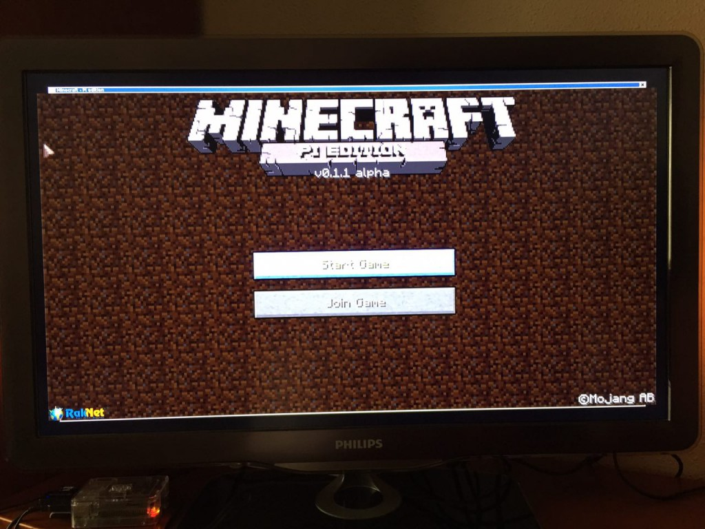 Minecraft Pi en RetroPie