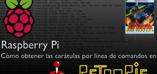 Raspberry Pi, cómo obtener las carátulas por línea de comandos en RetroPie