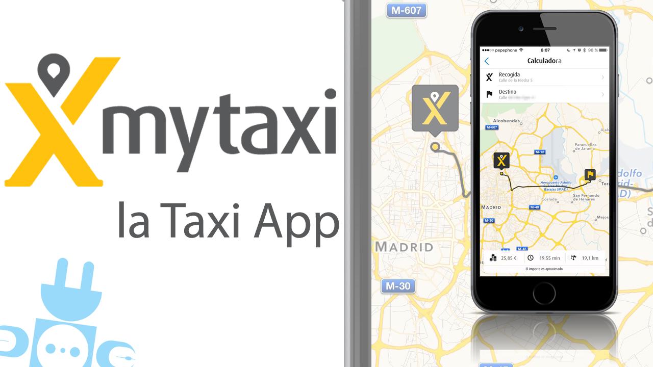 mytaxi la taxi app