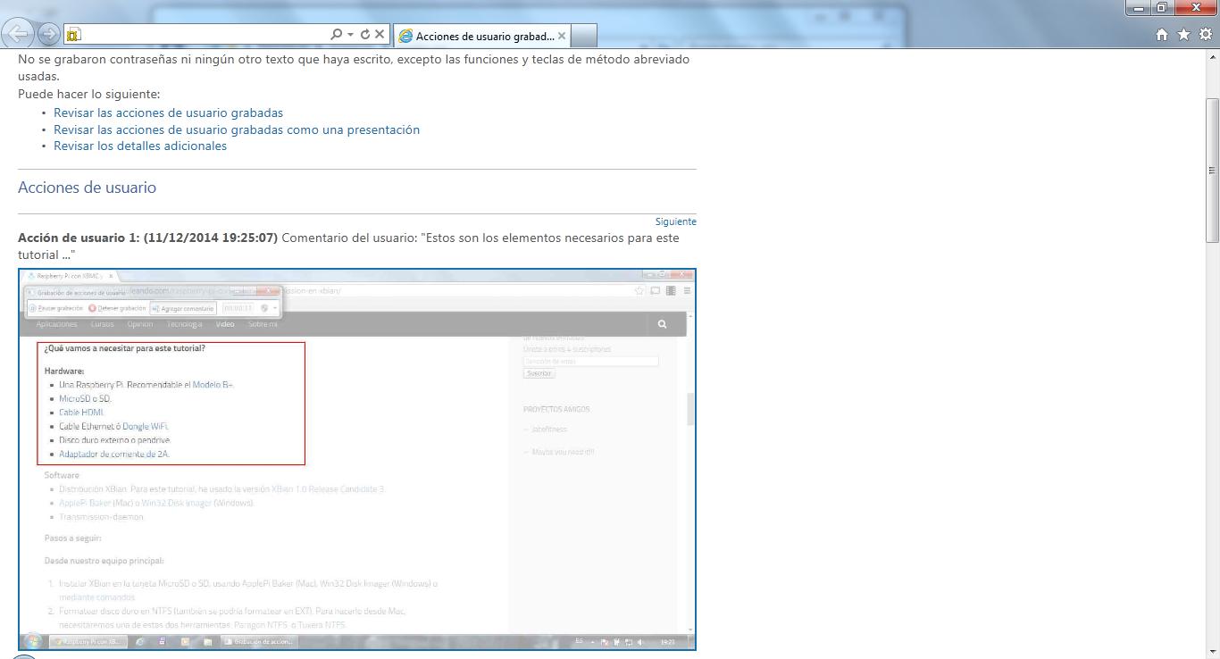 Cómo grabar acciones de usuario en Windows con PSR - Babuleando