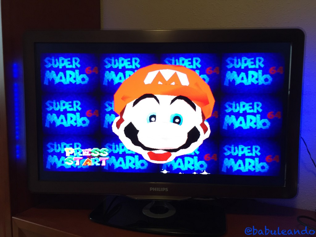 Super Mario 64 - Relación de aspecto 16:9
