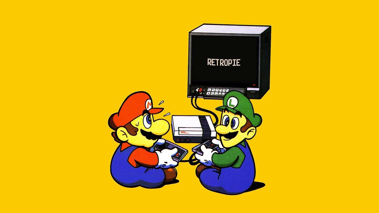 NES Splashscreen