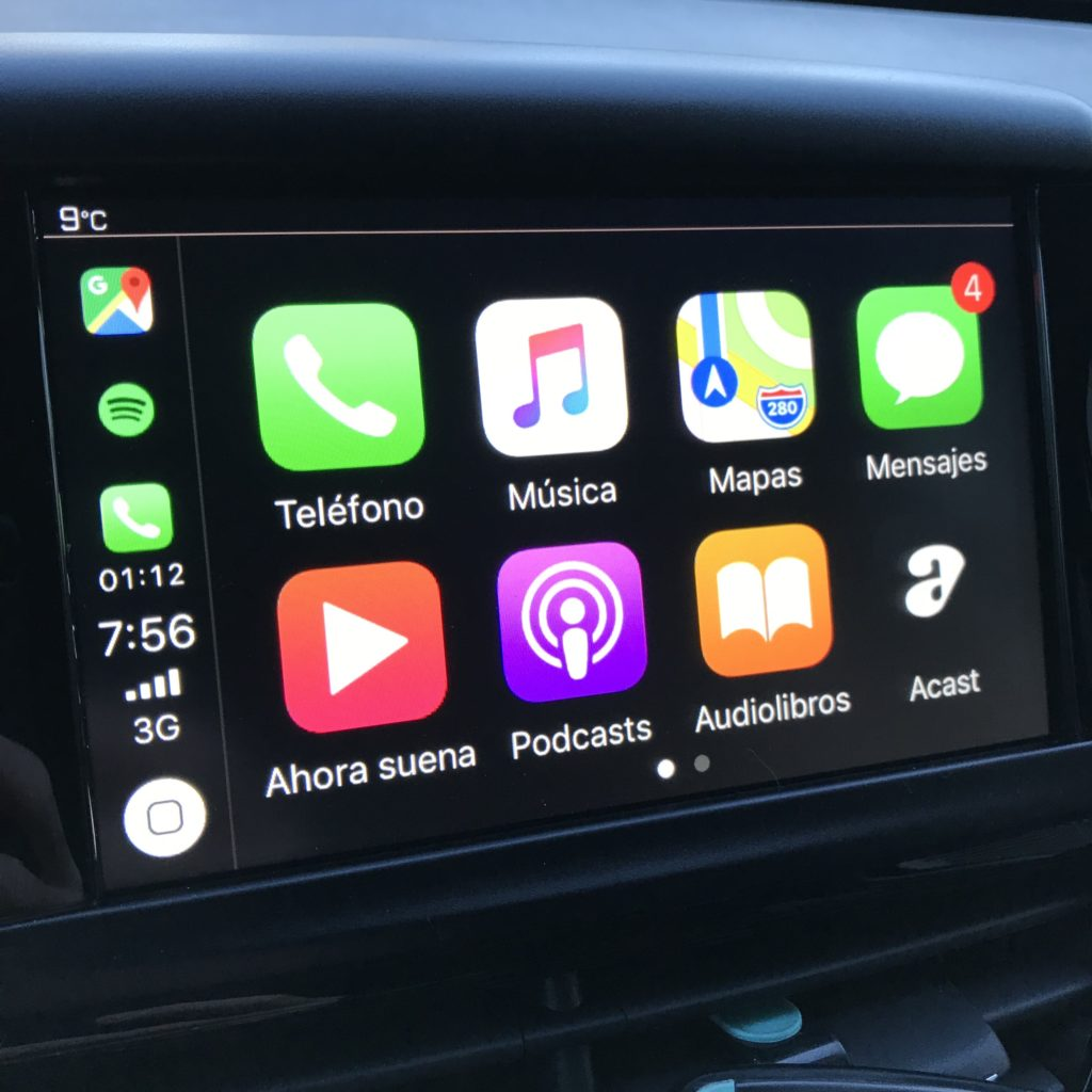Aplicaciones en CarPlay (Página 1)